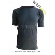 T-Shirt Elasticizzato Uomo Nero