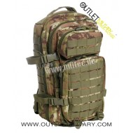 Zaino Militare Small 30 Litri Assault Pack Vegetato