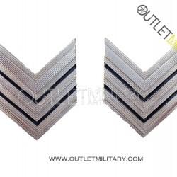 Coppia di Gradi Metalli Carabinieri Brigadiere