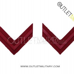 Coppia di Gradi Metalli Carabinieri Scelto
