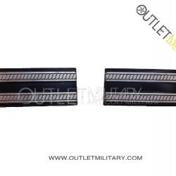 Coppia di Gradi Metalli Carabinieri Maresciallo Ordinario