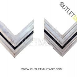 Coppia di Gradi Metalli Carabinieri Vice Brigadiere