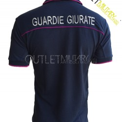 Polo Guardie Giurate Mod. Polipropilene Microfibra