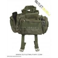 Tasca Pane 'Sistema Modulare' di Fanny Pack Small Verde
