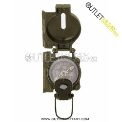 Bussola con Custodia Metelli Verde mod. US Army IMPO.GEW.